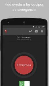 aplicación emergencias