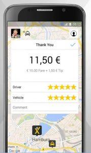 aplicaciones para pedir un taxi