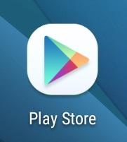 botón de la play store