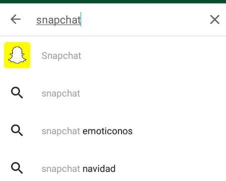 buscar snapchat