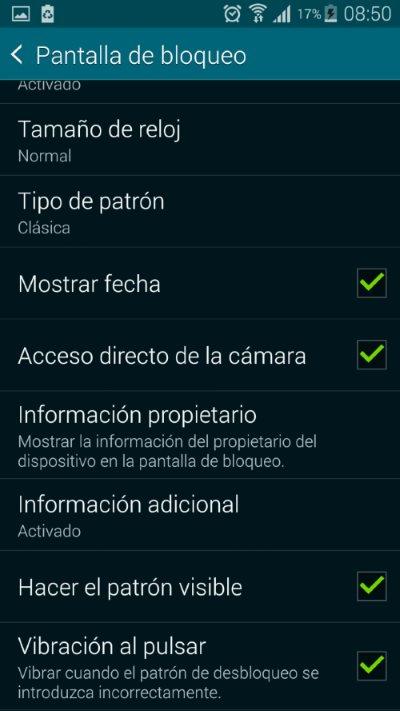 opcion emergencia en android