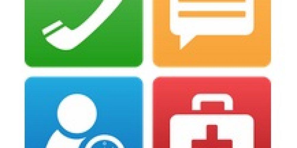Tercera edad con smartphone: aplicación con SOS y botones simples