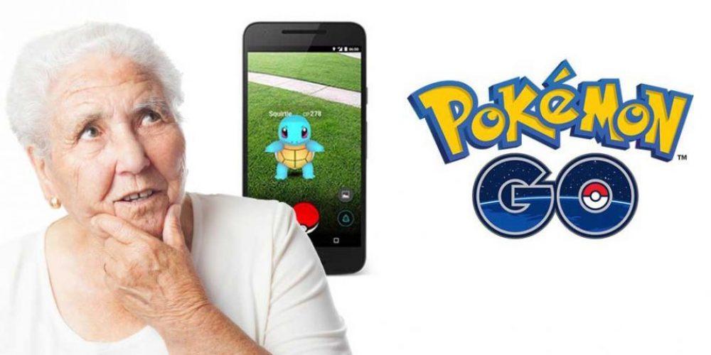 Los que somos más mayores NO debemos jugar al Pokemon Go… O sí