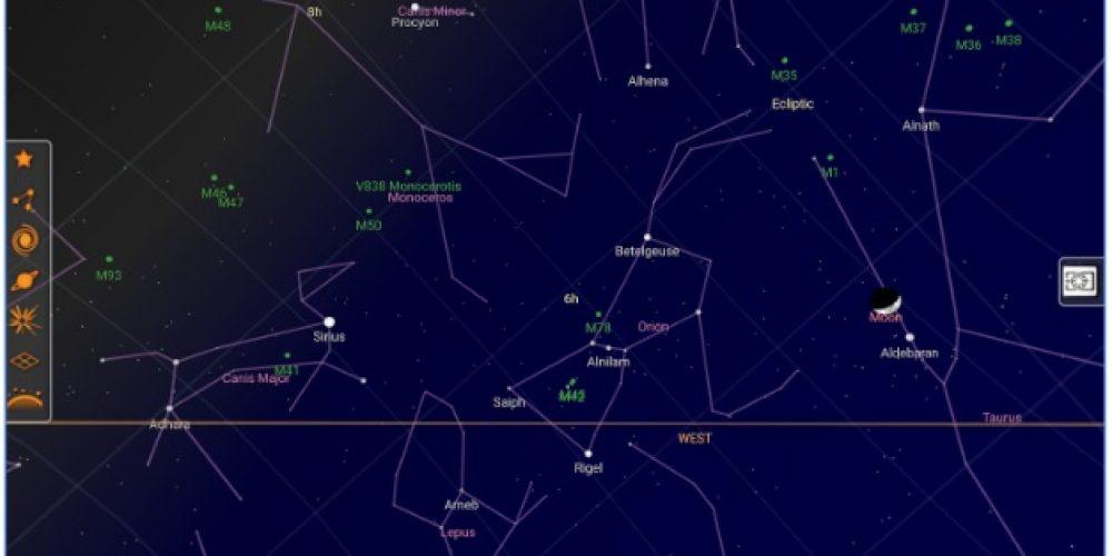 App para ver el cielo: Las estrellas en la palma de la mano