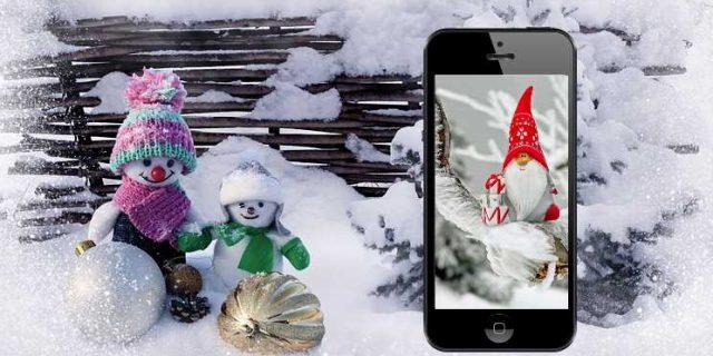 Las mejores Aplicaciones y fondos de Navidad para tu móvil